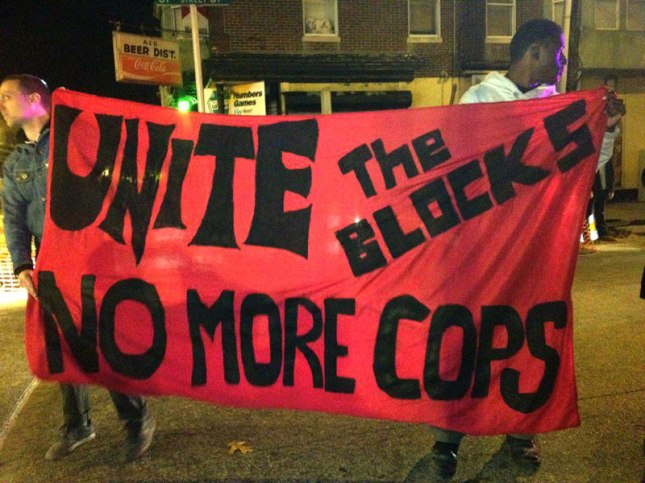 Unite the Blocks - No More Cops